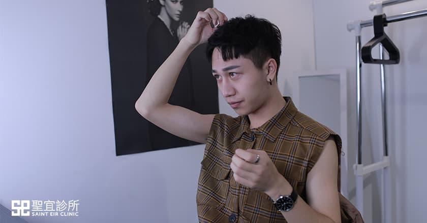 韓式隆鼻,三段式隆鼻,隆鼻,男生隆鼻,男生整形,潮男,挺鼻,鼻樑
