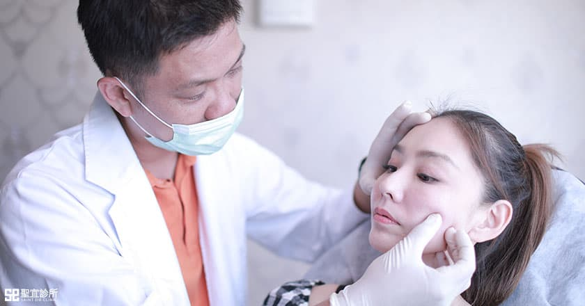 3d聚左旋乳酸/舒顏萃, 藝人賴芊合, 陳諭正醫師