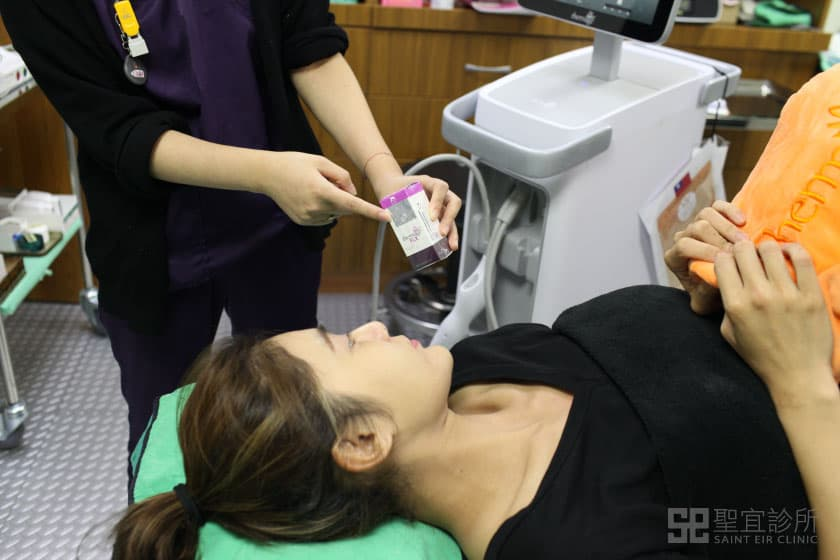 鳳凰電波治療過程