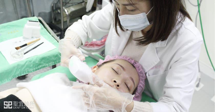 Q+音波拉提治療過程