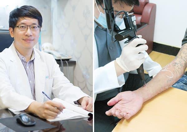 2012新竹誠正中學除刺青義診活動(翁書賢醫師)