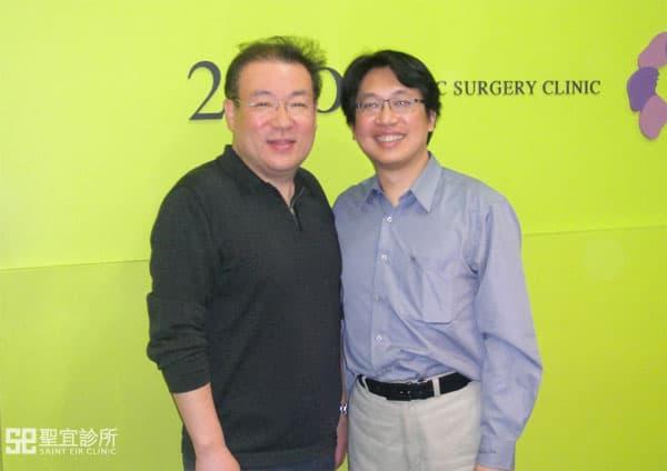翁書賢醫師至韓國參與技術經驗交流